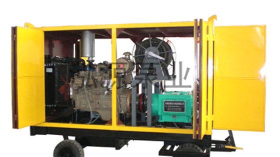 Дизельный аппарат для чистки канализации и сливов