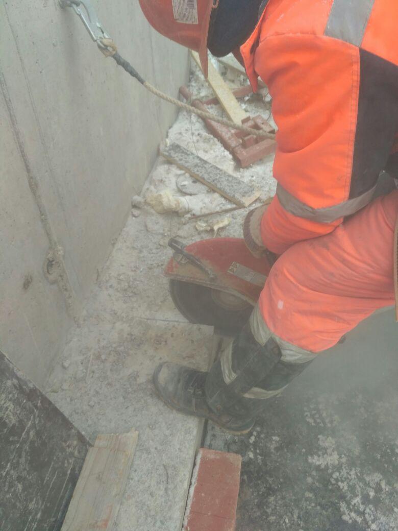 алмазное сверление бетона Санкт-Петербург, резка швонарезчиком, алмазная резка железобетона