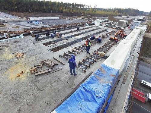Гидродемонтаж бетона, размыв бетона, гидроснос бетона, Aquajet, Conjet