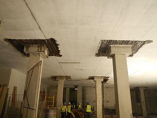 гидродемонтаж бетона, гидродемонтаж железобетона, технология гидродемонтажа, демонтаж бетона водой
