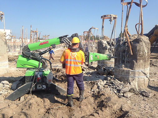 Демонтаж бетона, гидродемонтаж, канатная резка