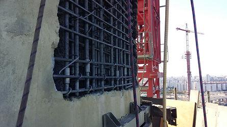 Гидродемонтаж бетона
