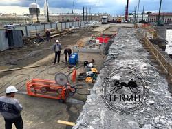 Канатна резка бетона