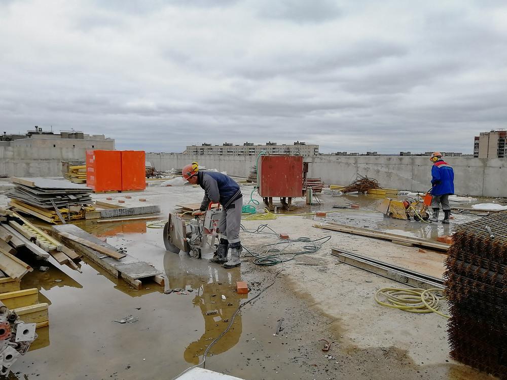 швонарезчик, алмазная резка, демонтаж, резка бетона