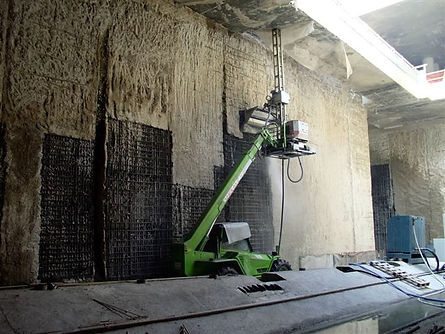 Гидродемонтаж бетона, демонтаж водой