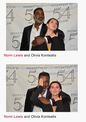 Me and Norm Lewis