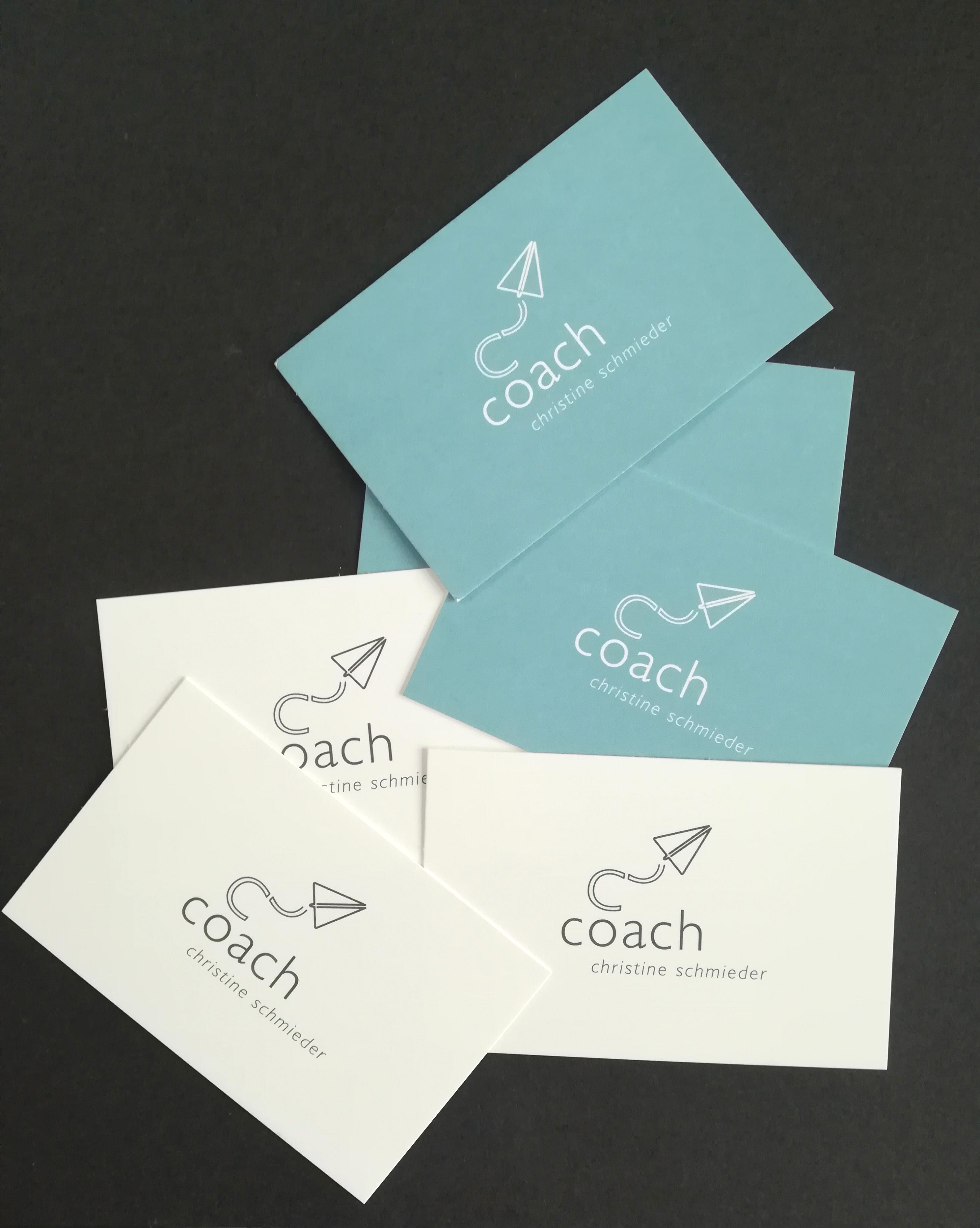 CI Entwicklung für Coaching