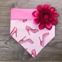 Sparkle Heels & Flower