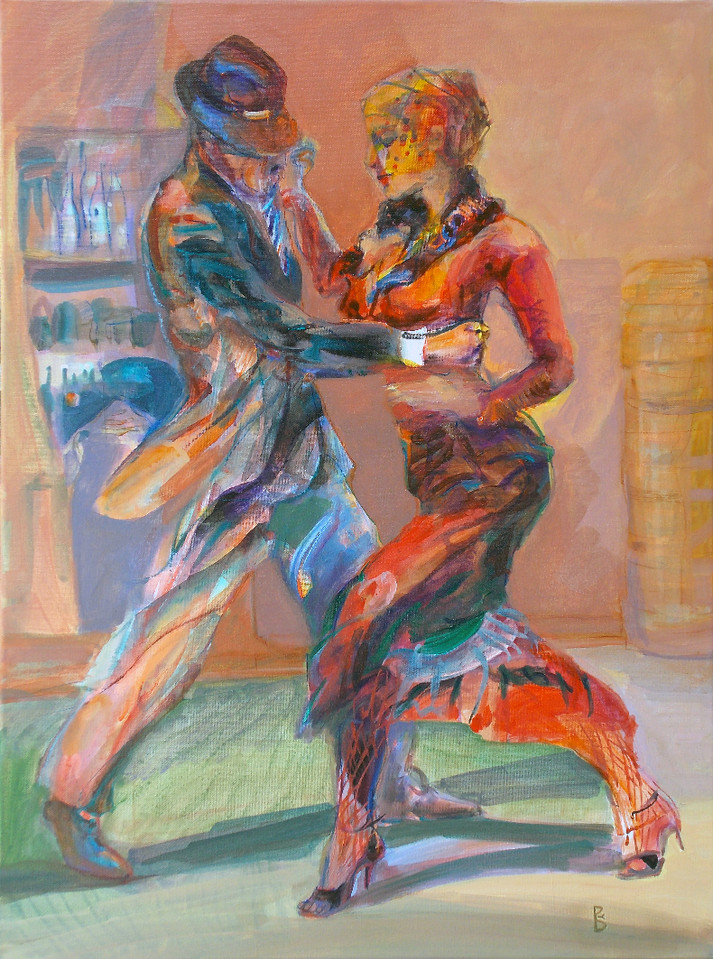 Танго в тишина