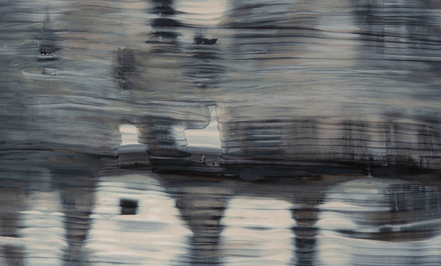 Passing Landscapes, Mirage-Thames river (detail)