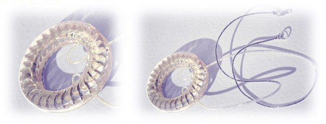 "necklace ""Solar Disk"""