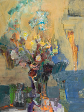 Цветя от приятел