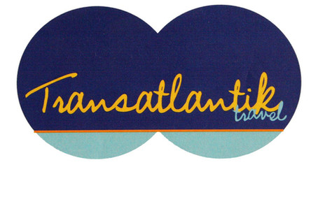 """проект: лого клиент: Туристическа агенция """"Трансатлантик"""" година: 2010"""