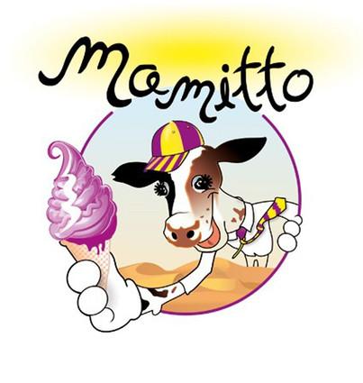 "проект: лого / логотип клиент: марка сладоледи ""Мамито"" година: 2011"