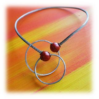 "necklace ""Handcuffs"""