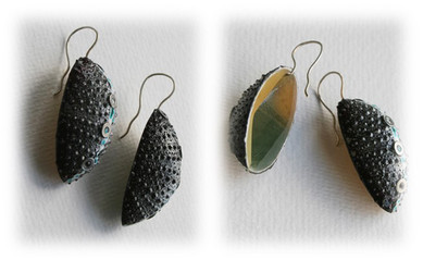 "earrings ""Waterfalls"""