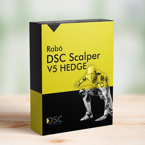 Robô DSC Scalper V5 HEDGE ILIMITADO (LICENÇA VITALÍCIA)