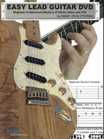 EASY LEAD GUITAR DVD: Beginner to Advanced Mastery of Guitar Solos and Fills