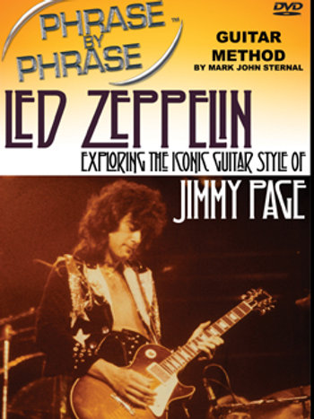 Phrase By Phrase Guitar Method - Led Zeppelin: Jimmy Page's Iconic Guitar Style