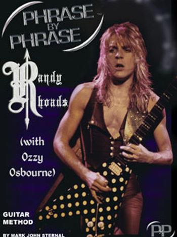 Phrase By Phrase Guitar Method: Randy Rhoads (w/ Ozzy Osbourne)