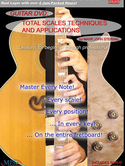 GUITAR: Total Scales, Techniques and Applications