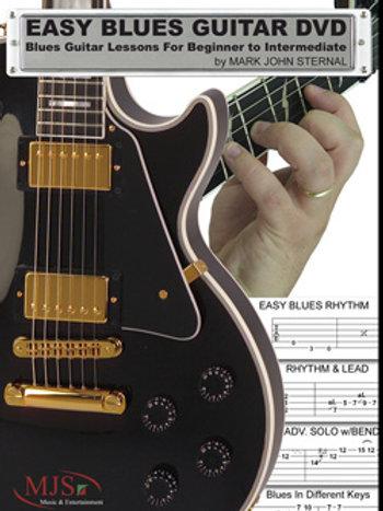 EASY BLUES GUITAR: For Beginner Through Intermediate