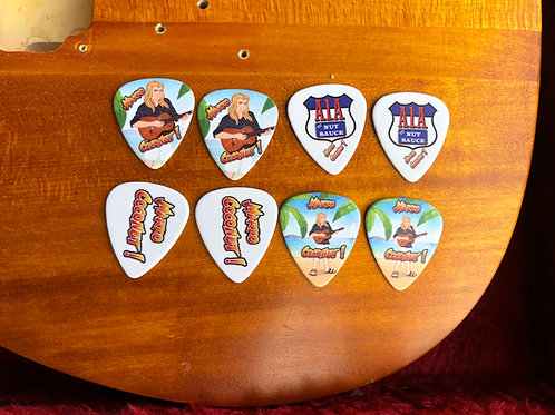 Marko Coconut Guitar Picks (8 pack)