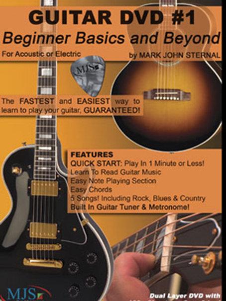 GUITAR #1 Beginner Basics and Beyond