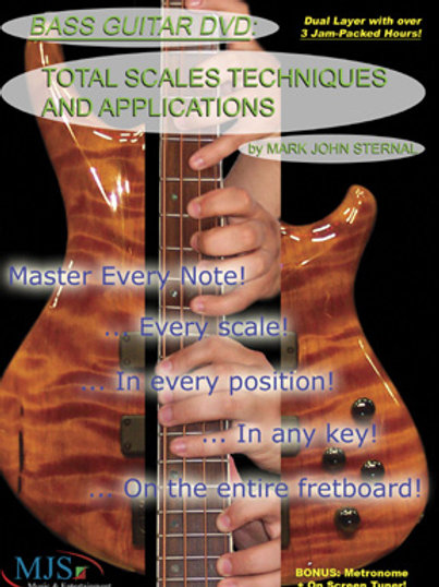 BASS GUITAR: Total Scales, Techniques and Applications