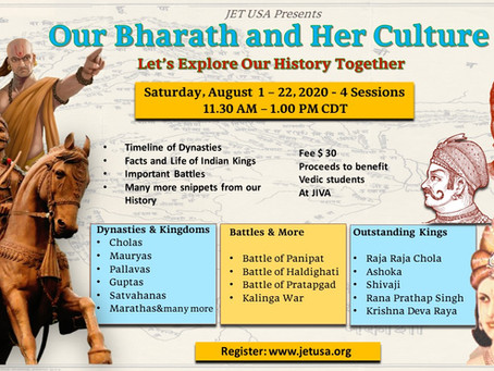 Our Bharath and Her Culture