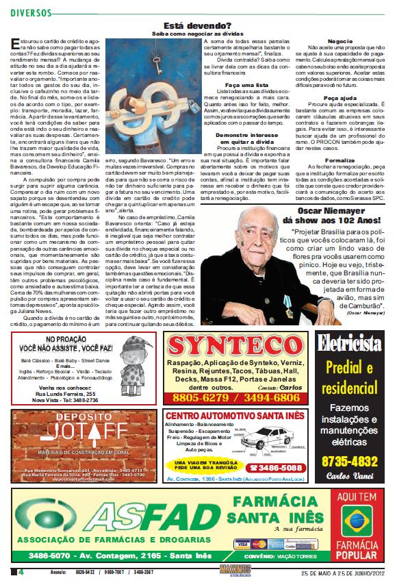 Jornal Santa Inês