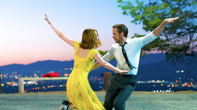 "La La Land – a ""dreamy blur"" that garnered 14 Oscar nominations!"
