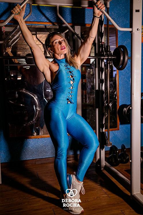 Macacão Gracyanne - Wonder Azul