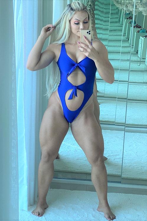 Maiô Anne - Azul Bic
