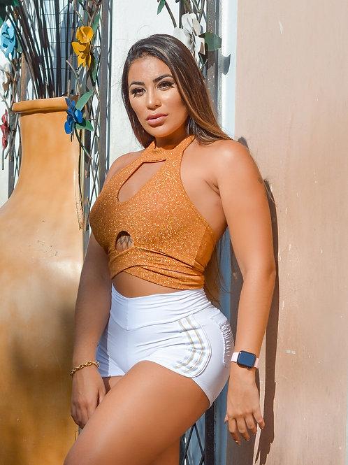 Cropped Mariana - Lourex Golden
