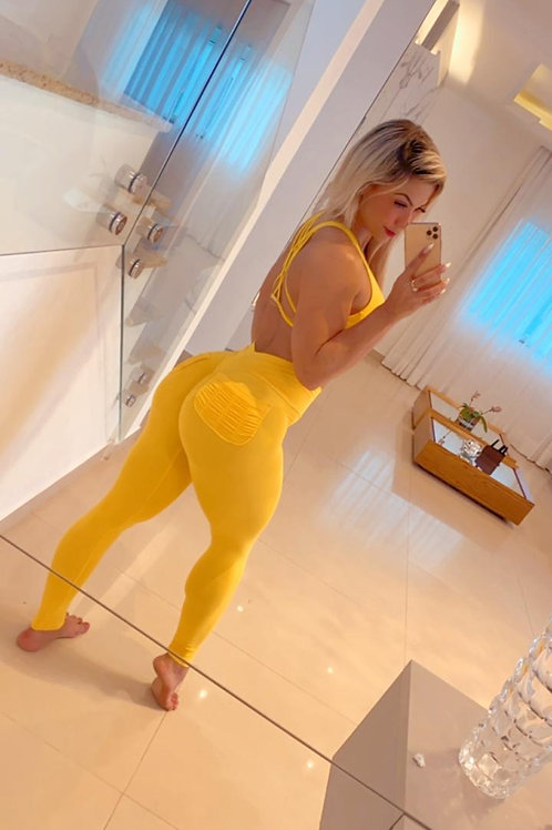 Calça Thaís - Amarela