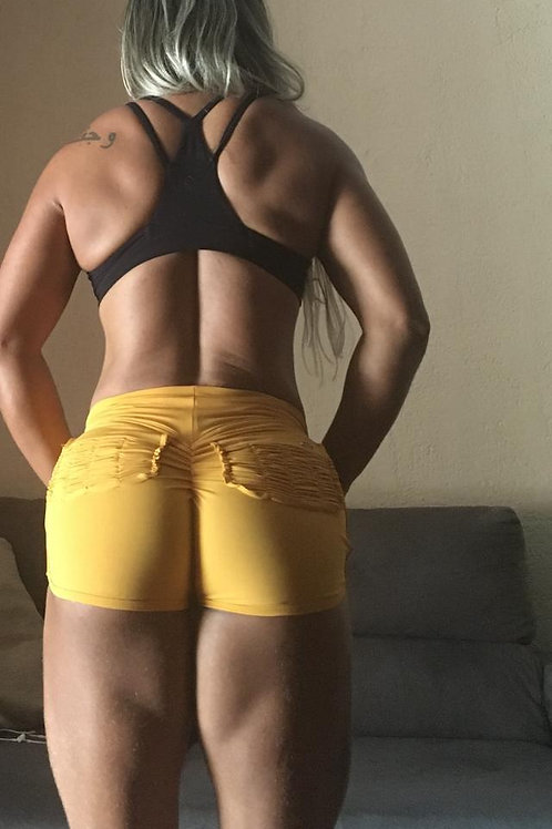 Short Bruna - Amarelo