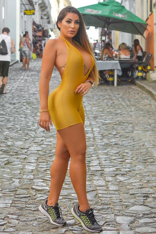 Macaquinho Mariana - Golden