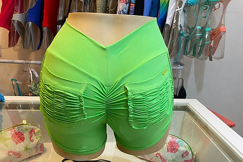 Short Bruna - Verde Flúor