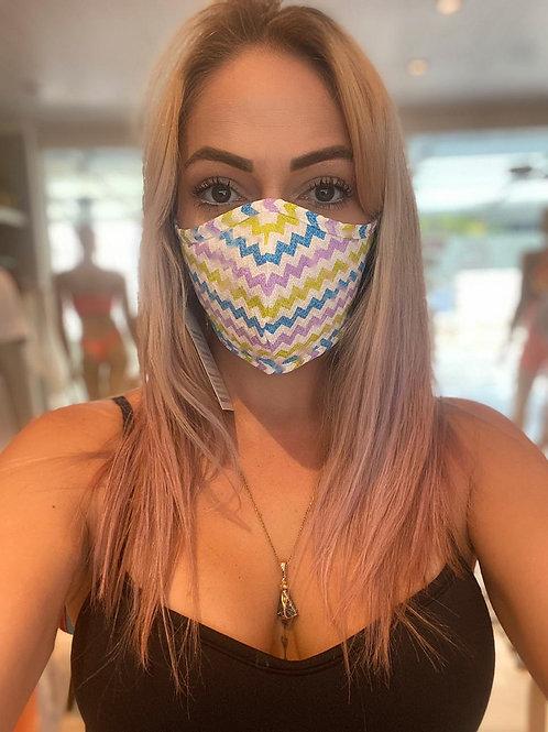 Máscara - Zig Zag Lilás