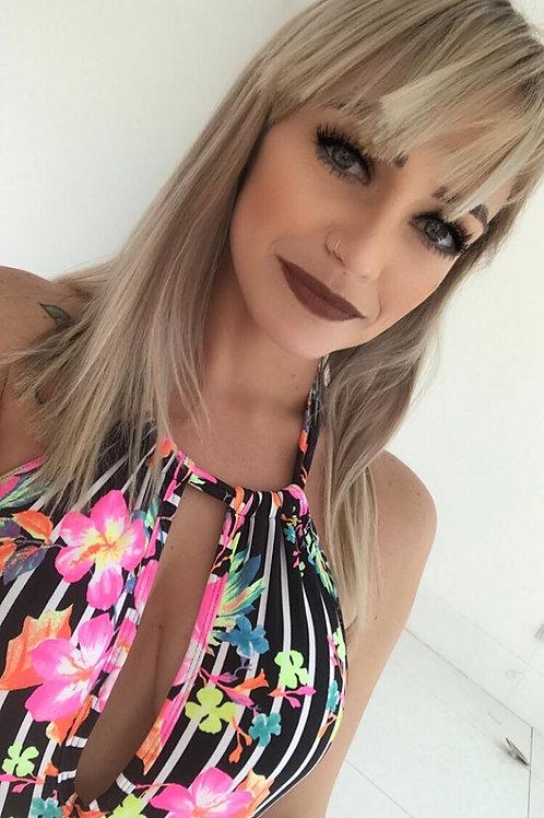 Maiô Mel - Listra com Flores