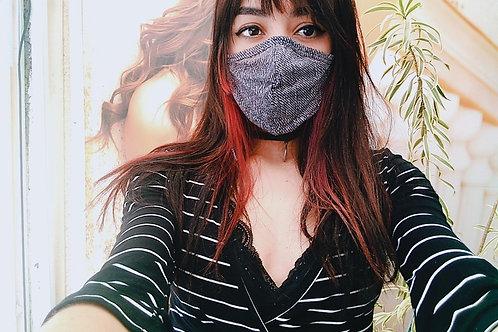 Máscara - Jeans Black