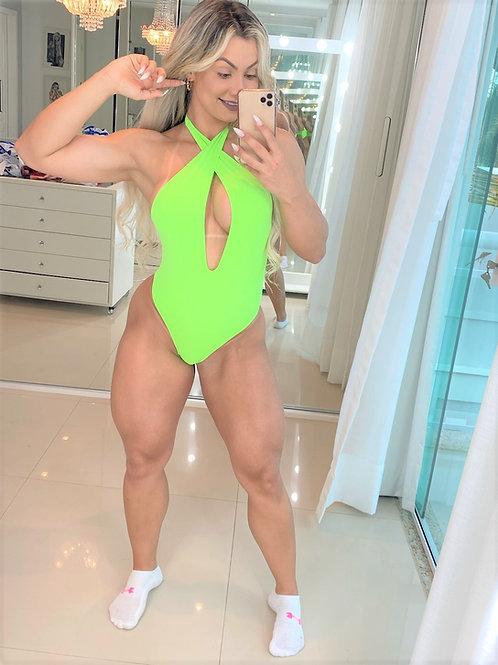 Body Tatty - Verde Flúor