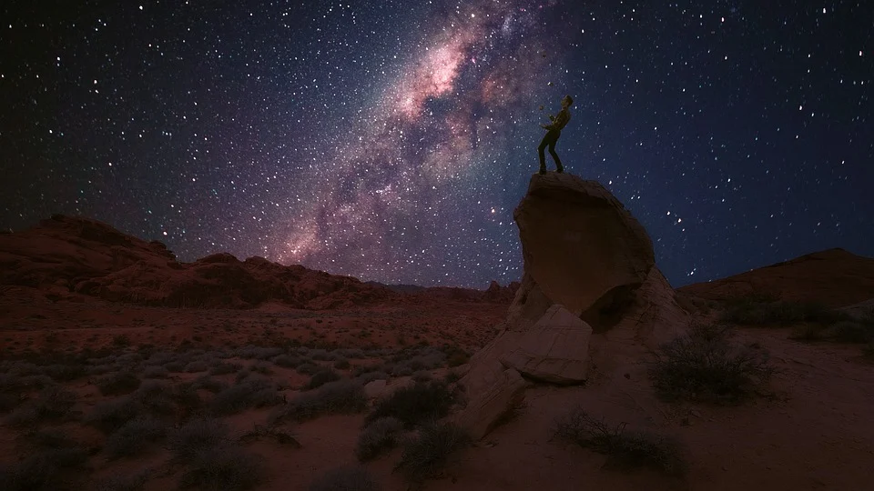 Valley of Fire Milky Way