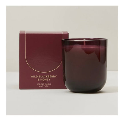 Wild Blueberry Honey | Poured Glass Candle Set