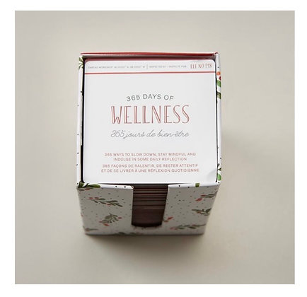 365 Days of Wellness | Your Year Starts Now