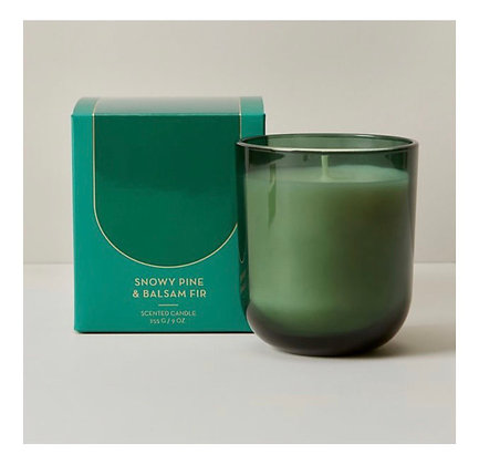 Snowy Pine Balsam Fir | Poured Soy Candle Set