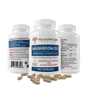 Vitamin D | Made from Organic Mushrooms