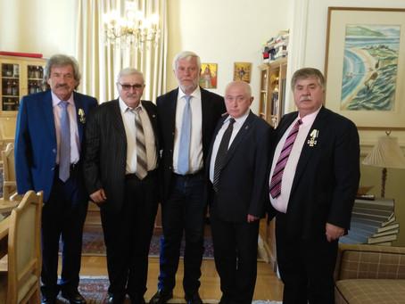 Подписание меморандума между Губернатором Пелопоннеса (Греция) и Парламентским Центром.