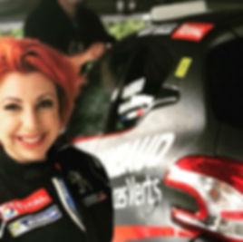 Ophélie Abchice Moniteur BPJEPS Sport Automobile